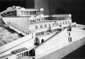 Model of the Sanctuary of Fortuna Primigenia